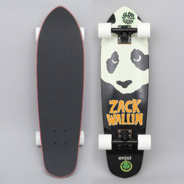 Enjoi 7.875 Zack Complete Skateboard Cruiser Black