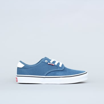 Vans Youth Chima Ferguson Pro Shoes Blue Ashes / White
