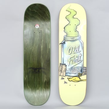 Anti Hero 8.75 Grosso Old Fart II Skateboard Deck Yellow