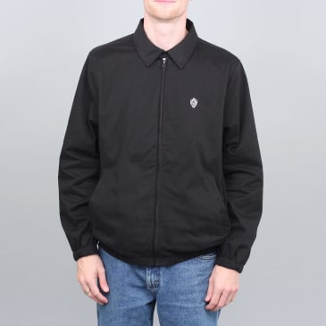 Slam City Skates Flamehead Harrington Jacket Black