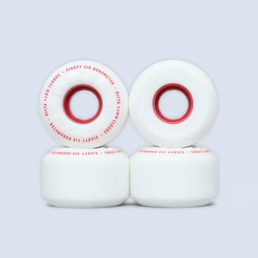 Ricta 55mm / 86A Clouds Wheels White / Red