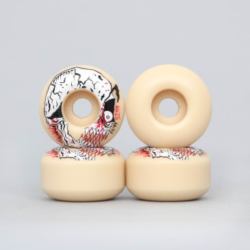 Spitfire 52mm 99DU Formula Four Spanky Neckface Classic Wheels Natural