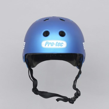 Pro-Tec Old School Certified Helmet Matte Metallic Blue