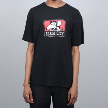 Slam City Skates Tougher T-Shirt Black