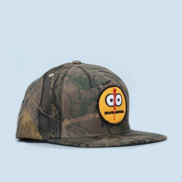 Skate Mental Smiley Shot Camo Cap