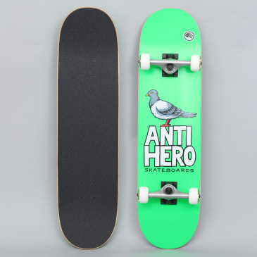 Anti Hero 8.25 Pigeon Hero X-Large Complete Skateboard Green
