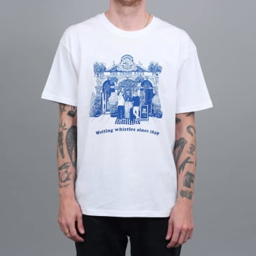Slam City Skates Keys T-Shirt White