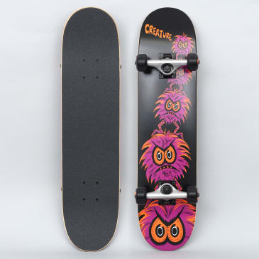 Creature 7.25 Creeps Complete Skateboard Black