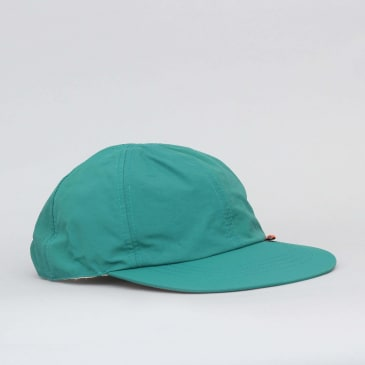 Butter Goods Reversible 6 Panel Cap Teal / Khaki