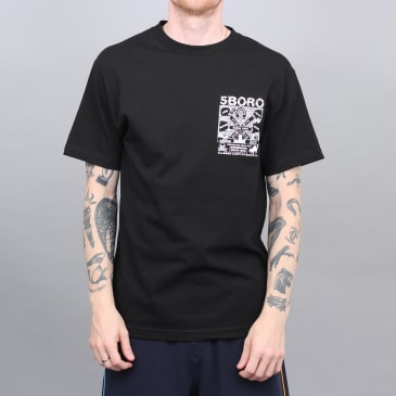 5Boro Lucky NY T-Shirt Black