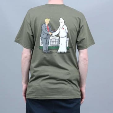 Real Wrench Justice T-Shirt Green
