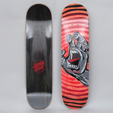 Santa Cruz 8.125 Off Hand HRM Skateboard Deck Red