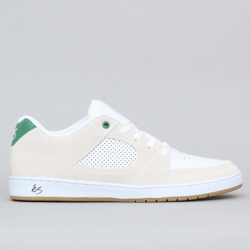 eS Accel Slim Shoes White / Green