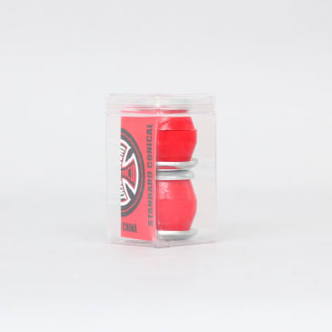 Independent 88A Soft Conical Bushings Red