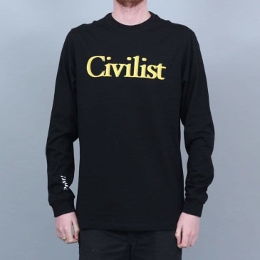 Civilist Drinking Longsleeve Black