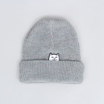 RIPNDIP Lord Nermal Ribbed Beanie Heather