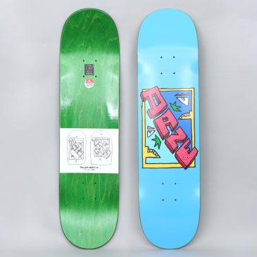 Polar 8 Dane Brady Cake Face Skateboard Deck Blue