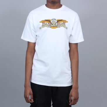 Anti Hero X Slam City Classic Liz T-Shirt White