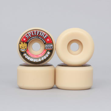 Spitfire 53mm 101DU Formula Four Conical Full Wheels Natural