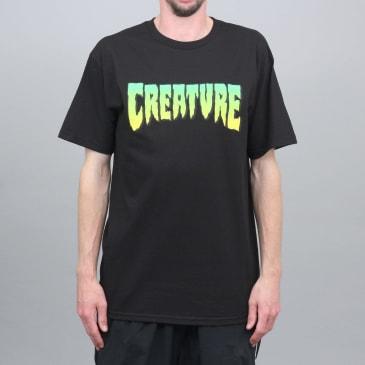 Creature Logo T-Shirt Black
