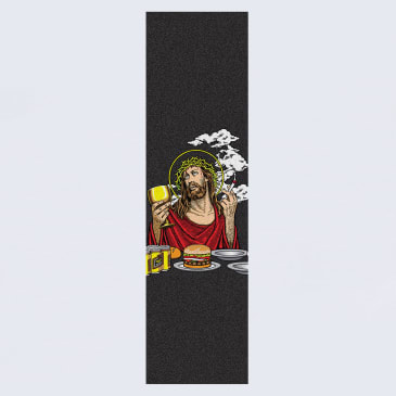 Blind Smoking Jesus Griptape Black