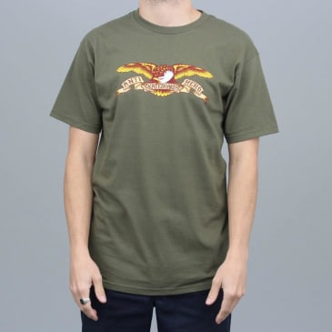 Anti Hero Eagle T-Shirt Military Green