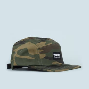 Thrasher 5 Panel Cap Camo