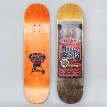 Anti Hero 8.38 Taylor Money Coals Full Skateboard Deck Brown