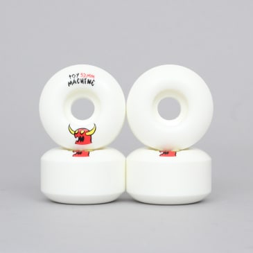 Toy Machine 52mm Sketchy Monster Wheels White