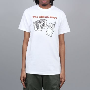 Dear Skating Official Dope T-Shirt White