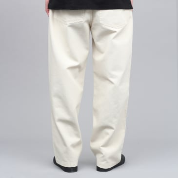 Pop Trading DRS Pants Off White Canvas