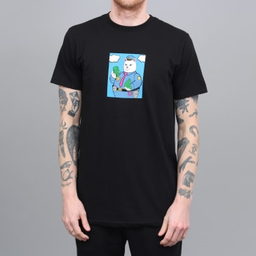 RIPNDIP Confiscated T-Shirt Black
