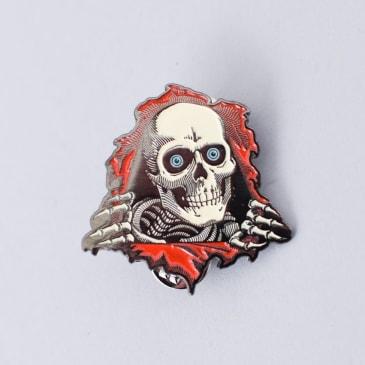 Powell Peralta Ripper Lapel Pin Badge