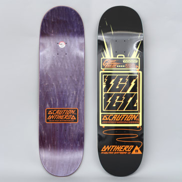 Anti Hero 9 Taylor High-Voltage Skateboard Deck Black