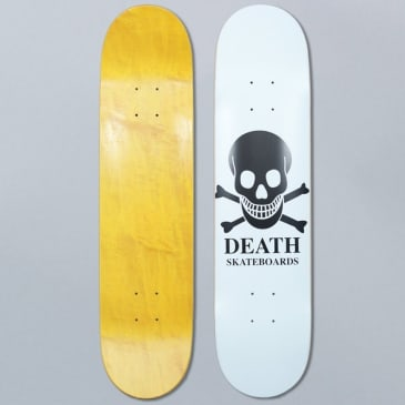 Death Skateboards 7.75 OG Skull White Skateboard Deck