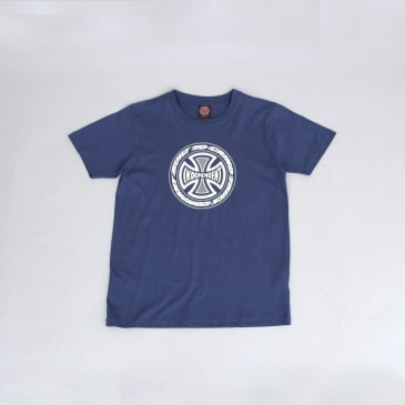 Independent TC Blaze Youth T-Shirt Navy