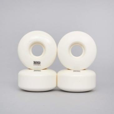Bones 54mm STF Blanks V3 Skateboard Wheels White