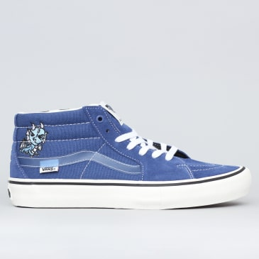Vans Sk8-Mid Pro Ltd Shoes (Alltimers) Traditional Navy / Classic White