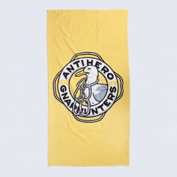 Anti Hero X Gnarhunters Towel Yellow