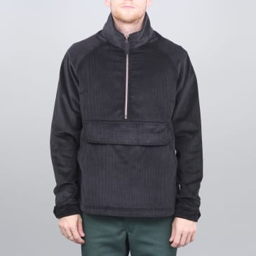 Pop Trading DRS Half Zip Jacket Black Cord