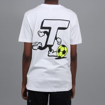 Theobalds Centre Forward T-Shirt White