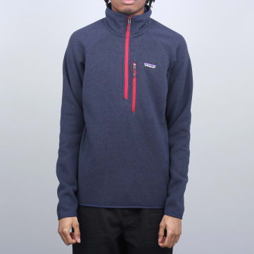 Patagonia Performance Better Sweater 1/4 Zip Navy Blue