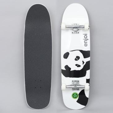 Enjoi 8.5 Whitey Panda Complete Skateboard Cruiser