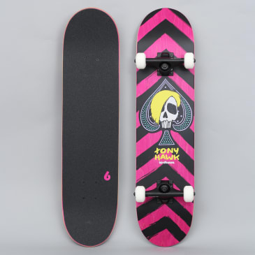 Birdhouse 7.5 Stage 3 McSqueeb Complete Skateboard Pink / Black