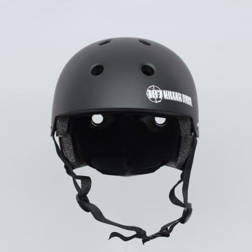 187 Killer Pads Certified Youth Helmet With Adjuster Matte Black
