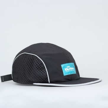 Butter Goods Expedition 4 Panel Cap Black