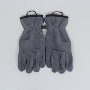 Patagonia Synchilla Gloves Forge Grey