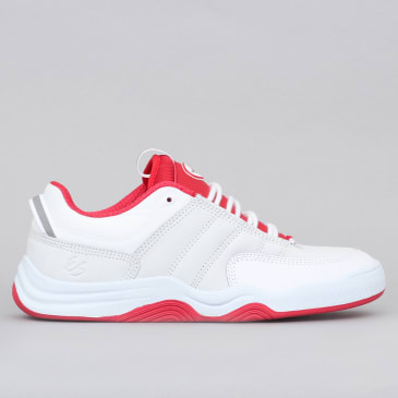 eS Evant Shoes White / Red