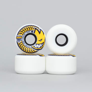 Spitfire 56mm 80HD Chargers Conical Soft Wheels White / Yellow