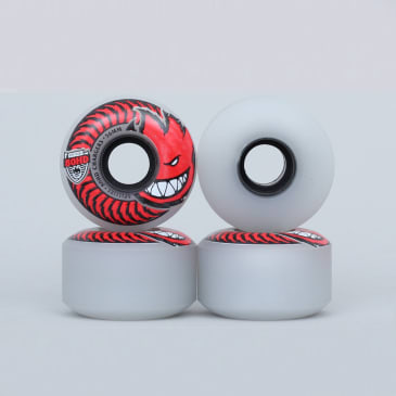 Spitfire 56mm 80HD Charger Classic Clear / Red Soft Skateboard Wheels